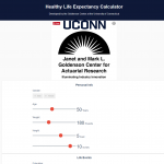 UConn Healthy Life Expectancy Calculator